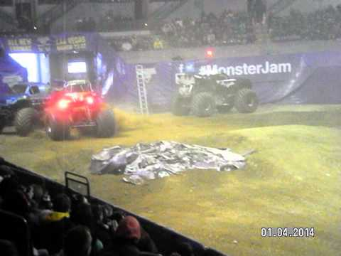 Gravedigger crushes it at the Sun National Bank center in Trenton!