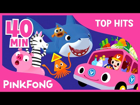 The Best Songs of May 2016  Ba Shark and More  + Compilation  PINKFONG Songs for Children