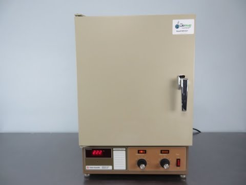 Fisher Scientific Isotemp Oven Model 615G YouTube
