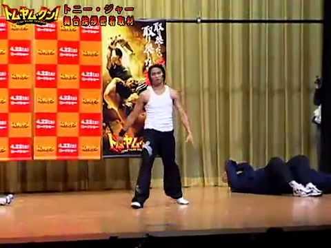 TONY JAA in JAPAN   YouTube
