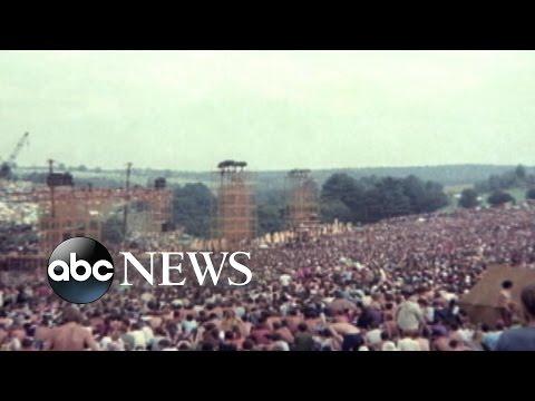 August 15, 1969: Woodstock Music Festival