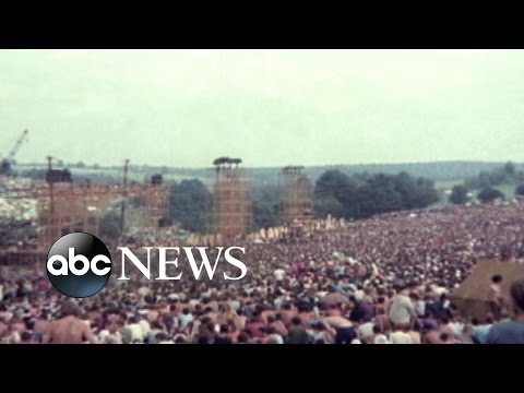 August 15, 1969: Woodstock Music Festival