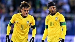Neymar vs Ronaldinho vs Vinicius   Samba Skills   Joga Bonito