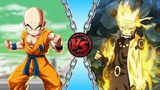 Kuririn vs Naruto