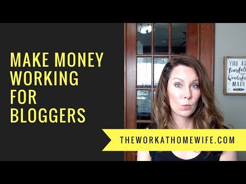 Paid Blogging Jobs: Make Money Working for Other Bloggers