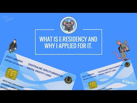 e-residency ep1 | what is e-residency and why i applied for it