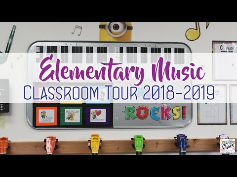 Elementary Music Classroom Tour 2018-2019