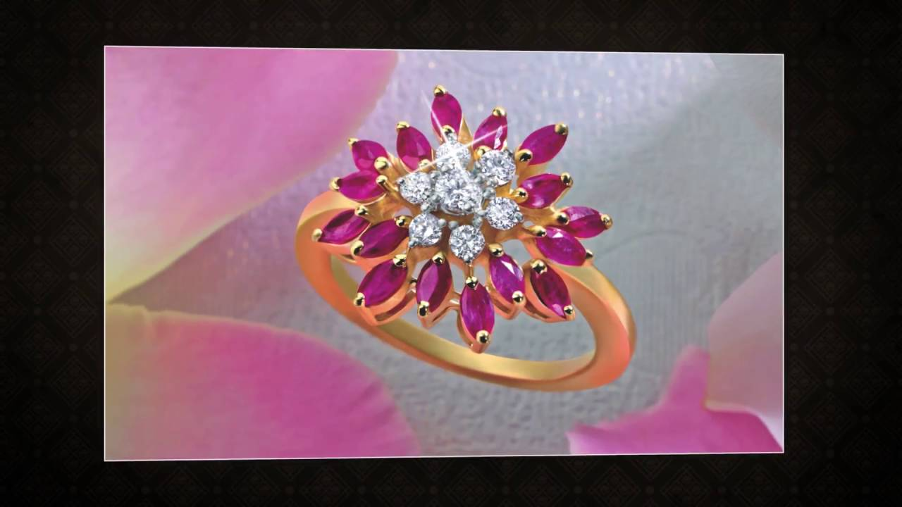 Ruby Gold Jewellery collection   P N Gadgil & Sons - YouTube