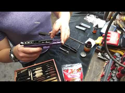 Cleaning a Walther PK380