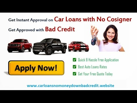 Car Loans With No Credit And No Cosigner