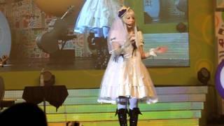 分島花音live@ACG 2011 1/8/2011 挨拶.
