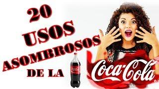20 Asombrosos Usos de la Cocacola que NO Sabias 😱 YOLIANA GAMBOA