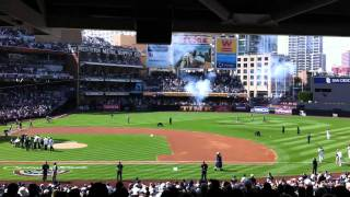Trevor Time - San Diego Padres - Opening Day 2011