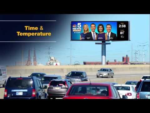 Dynamic Chicago Digital Billboard : JCDecaux North America