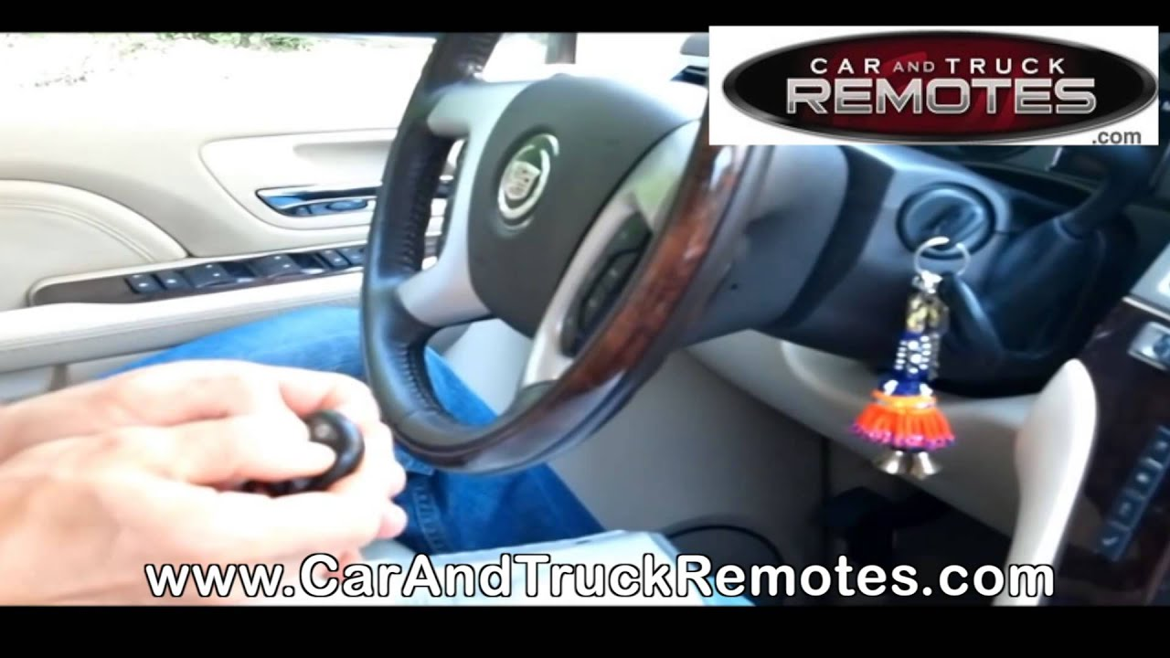 Chevrolet Monte Carlo Replacement Remote Programming 2007 2010 Youtube