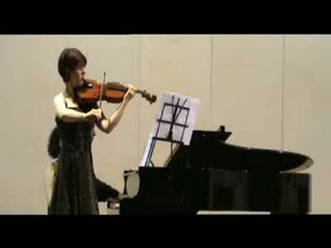 MADALINA NICOLESCU -  VIOLA, J. Brahms Sonata op 120 (mov 2)