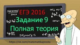 Четкий разбор 9 задания ЕГЭ 2019 по математике. Различные подходы задачи и теория #ЕГЭ2019