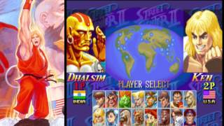 Street Fighter Anniversary Collection (Playstation 2 / PS2) [GaaG]