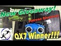 FrSky Taranis QX7S Winner! Start of the next Giveaway. Flying Frog for Youtube Falcon 90 for Patreon