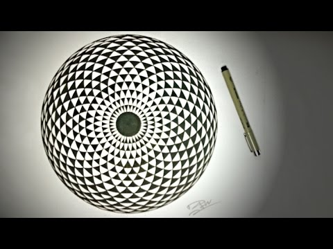 How To Draw ✎ Geometric EYE  | DearingDraws