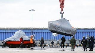 Поиски на месте крушения Ту-154 Минобороны России