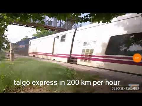 Amazing Talgo Express In 200 Km Per Hour