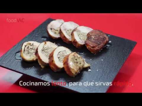 Regeneración de Pintada Rellena con Setas y Foie foodVAC