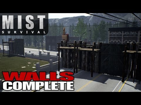 WALLS COMPLETE | Mist Survival | Let's Play Gameplay | S01E46