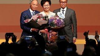 Hong Kong'un yeni lideri Pekin yanlısı Carrie Lam