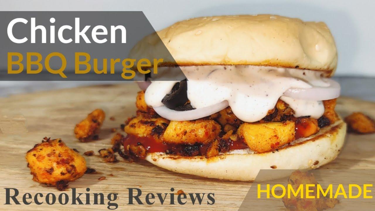 Download Chicken BBQ Burger   Chicken Tikka Burger   Chicken Burger   Kamran Afzal   Recooking Reviews