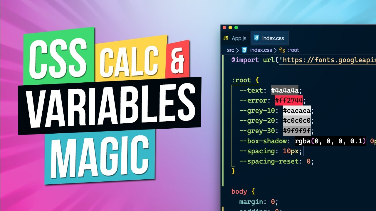 CSS Calc & CSS Variables --var | Going Back to Basics?