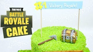 How to make a Fortnite Battle Royale Cake