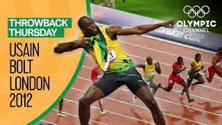 When Usain Bolt Matched Carl Lewis Achievement | Throwback Thursday