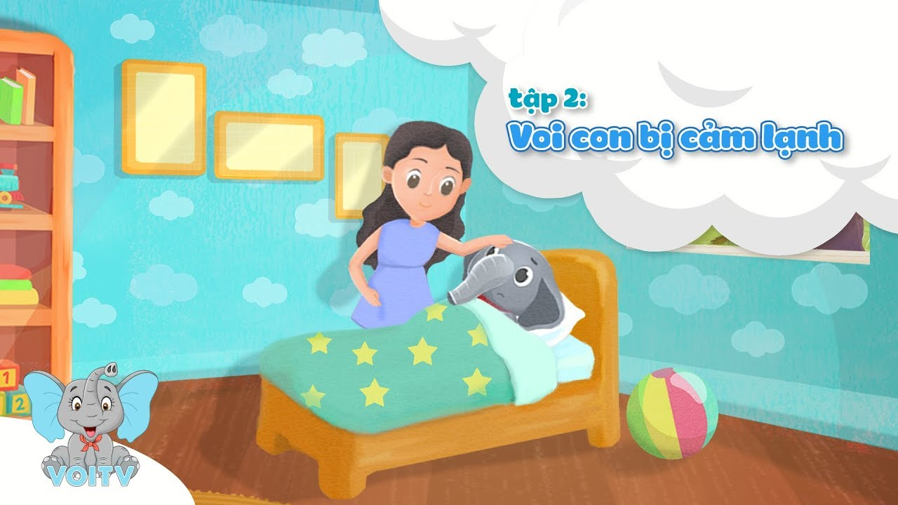 image Voi Con Bị Cảm Lạnh | Truyện Kể Bé Nghe | Tập 2 | Baby Elephant has a cold