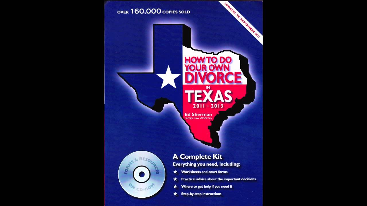 Making sense of the uncontested divorce process in Texas.
