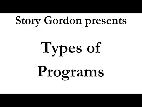 The Types of Programs Speakers Create and Deliver