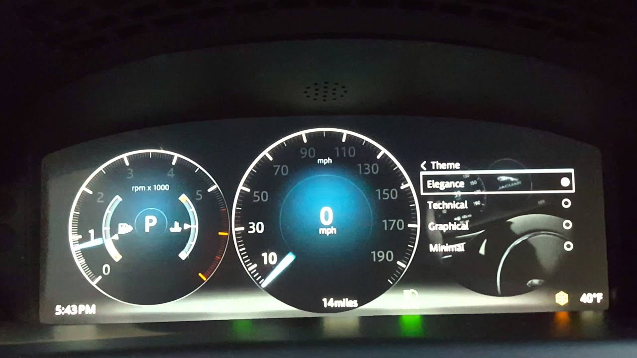 RRSPORT CO UK • View topic - RRS MY17 - TFT Virtual Instrument Panel