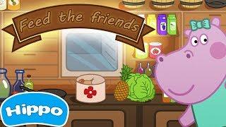 Гиппо 🌼 Детская кухня Накорми друзей 🌼 Мультики Промо-ролики трейлеры с Гиппо
