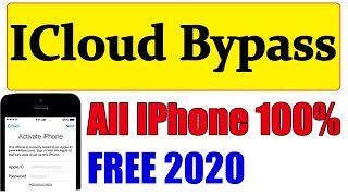 ICloud bypass | IPhone Icloud Bypass 2020 | FREE ICloud Bypass | icloud bypass checkra1n | checkra1n
