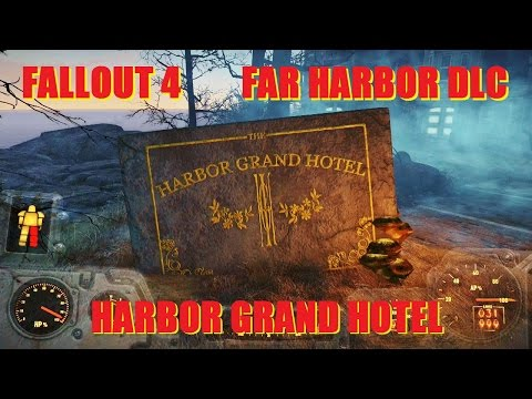 Fallout 4 Gameplay: Harbor Grand Hotel - Far Harbor DLC.