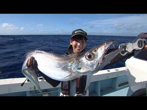 【いつでも釣り気分!】#特別編 沖縄で迫力ファイト テンヤ釣法で巨大タチウオを狙う!