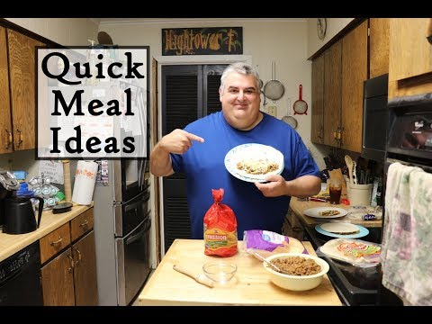 Quick Meal Ideas - For Hot Summer Days