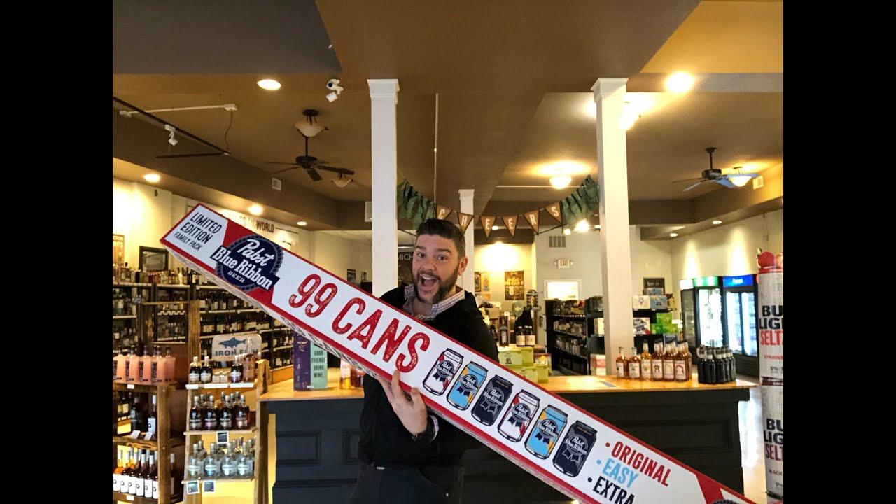 Guy drinks 99 Beers? Manistee Michigan, Liquor store diaries.