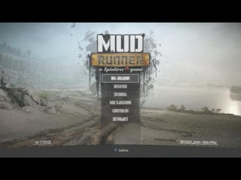 MudRunner: A Spintires game (GAMEPLAY TUTORIAL EP1) |