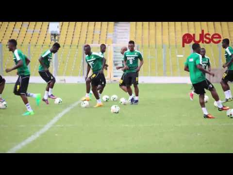 The Black Stars Train In Accra Ahead Of Ethiopia Game  | All Sports Uncut