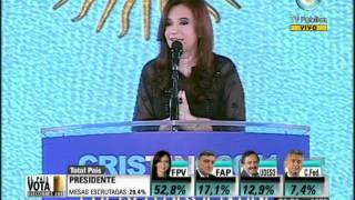 Discurso Cristina Kirchner - Elecciones 2011 -