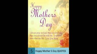 Happy Mothers Day Quotes Collection