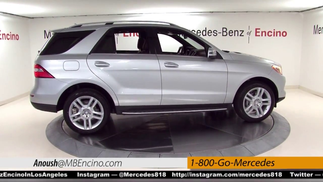 Why mercedes benz suv ml anoush show by mercedes benz of for Mercedes benz of encino