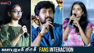 Nani's Gang Leader Team Funny Interaction With Fans | Priyanka Arul Mohan | Vikram Kumar