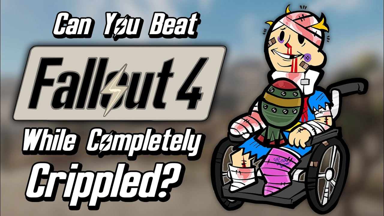 Can You Beat Fallout 4 While Completely Crippled And Over-Encumbered?
